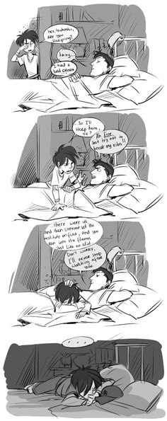 Big Hero 6 - Hiro and Tadashi - comic - wow. i did NOT need that. My eyes freaking started watering! Not ok!!