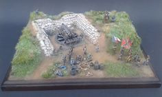 """""""All quite on the southern front"""" ACW Coastal Defence Emplacement 1/72"""