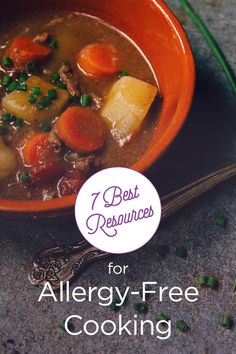 Avoid the stress and use these great online resources for allergy-free cooking. Super Healthy Kids is a great meal planning resource that also provides in-season recipes and Real Food, Allergy Free was made by a mom who's child faced severe eczema. Tomato Allergy, Free Kids Meals, Severe Eczema, Cooking Tomatoes, Super Healthy Kids, Italian Dishes, Allergy Free, Natural Cures, Allergies