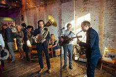 The Swing Ninjas Jazz band | Bixton East Pub Wedding Reception | Helen Abraham Photography