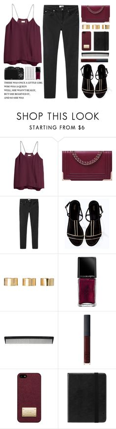 """""""When will my life begin"""" by tania-maria ❤ liked on Polyvore featuring H&M, Acne Studios, Zara, ASOS, Illamasqua, CO, T3, NARS Cosmetics, Michael Kors and Incase"""