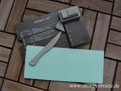 Anleitung: Gift Bag Punch Board / Stanz- & Falzbrett für Geschenktüten Gift Bag Punch Board, Envelope Punch Board, Stampin Up Anleitung, Craft Punches, Stamping Up, Stampin Up Cards, Gift Bags, Card Making, Pure Products
