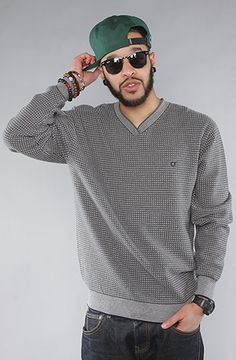 The Fisherman Sweater in Grey by ORISUE #karmaloop use rep code QUINN3 for a discount