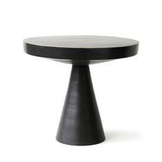 Shop By Category - Hans Pedestal Side Table Accent Furniture, Table Furniture, Luxury Furniture, Furniture Design, Outdoor Furniture, Pedestal Side Table, Brass Side Table, Side Tables Bedroom, Mid Century Modern Furniture