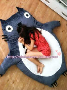 200CM-Totoro-cushion-bed-childrens-bed-sleeping-pad-large-gitf