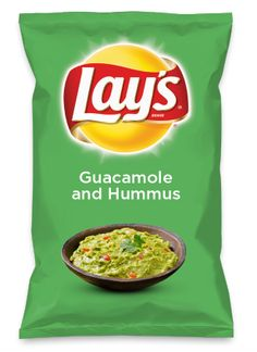 Wouldn't Guacamole and Hummus be yummy as a chip? Lay's Do Us A Flavor is back, and the search is on for the yummiest flavor idea. Create a flavor, choose a chip and you could win $1 million! https://www.dousaflavor.com See Rules.