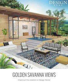 My Home Design, My Design, House Design, Outdoor Furniture Sets, Outdoor Decor, Creative Design, Patio, Interior Design, Architecture