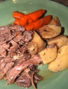 Classic Pot Roast (Crock Pot)