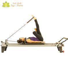 thread the needle pilates reformer exercise