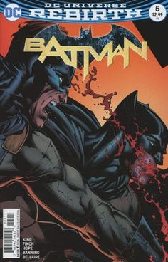 """DC COMICS (W) Tom King (A/CA) David Finch, Matt Batt Banning """"I Am Gotham"""" part five. In the final chapter of this epic, is Batman truly the hero Gotham City deserves-or does it deserve better? In thi"""