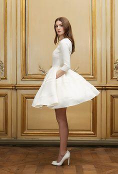 Robe de mariée courte Alexis - Signature Collection - Robes de mariée - Delphine Manivet