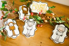 Dressed Like A Wild Thing | Sugar Cookies by Snickety Snacks Art by Nikki at MelonheadzIllustrations
