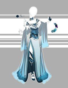 Robe bleue magnifique !!!
