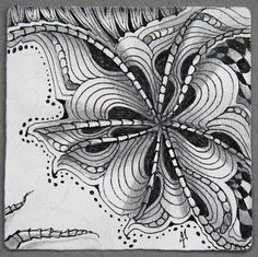 Ixorus~Zentangle~Maria Thomas, January 2011