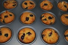 blueberry almond flour muffins. i'm gonna try using the almond pulp leftover from making almond milk