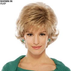 Mandy Wig by Estetica Designs is a short, softly layered wig with sophistication and style.
