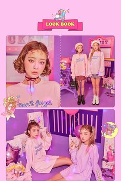Ice Cream Cherry Asian Style Young Style korean style street style outfit so cute Gyaru Fashion, Harajuku Fashion, Kawaii Fashion, Cute Fashion, Fashion Outfits, Fashion Styles, Fashion Ideas, Asian Style, Korean Style