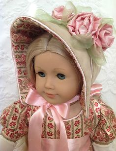 """English Rose"" Regency 1812 Wallking Outfit Dress for Caroline by RandDolls | eBay"