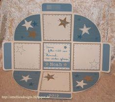 Omellie's Designs: Das Minialbum ala Melanie......