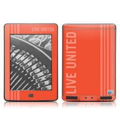 United Way Red Design Protective Decal Skin Sticker for Amazon Kindle Touch / Touch 3G (6 inch Ink display with Multi-touch) by MyGift. $16.99. When you're out enjoying the park, reading your favorite book on your Amazon Kindle Touch / Touch 3G (6 inch Ink display with Multi-touch), why not express who you really are at the same time. With a simple installation, you can showcase a brilliant, vibrant design skin decal on your Kindle Touch / Touch 3G. Not only will ...