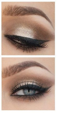 Pinterest: @ndeyepins ⇒ Create a Perfect Metallic Smoky Eye in 3 Minutes - Trend2Wear // Créez un Parfait Smokey Eye Métallique en 3 minutes - Trend2Wear