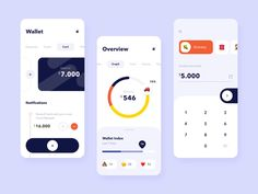 The wallet app mobile interaction - Expolore the best and the special ideas about Interface design Interaktives Design, App Ui Design, App Design Inspiration, Mobile App Design, Mobile Web, Ui Kit, Wireframe Mobile, Application Ui Design, Conception D'interface