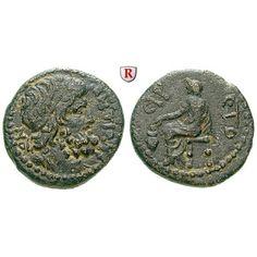 Römische Provinzialprägungen, Seleukis und Pieria, Antiocheia am Orontes, Autonome Prägungen, Bronze Jahr 115 = 66-67, ss-vz:… #coins