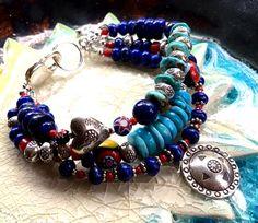 Southwestern Bracelet Turquoise Bracelet Gemstone Bracelet