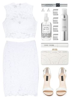 """""""All Laced Up for Spring with bebe: Contest Entry"""" by ssm1562 ❤ liked on Polyvore featuring Bebe, Forever New, BCBGMAXAZRIA, Bobbi Brown Cosmetics, Maison Margiela, Jennifer Meyer Jewelry, Christian Dior and alllacedup"""