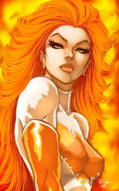 Jean Grey Colors by ErikVonLehmann.deviantart.com