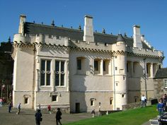 Castles in the air and on the motte. (Image credit: The Great Hall at Stirling Castle today © user:kilnburn via Wikipedia) St Andrews Scotland, Stirling Castle, Scottish Castles, The Beautiful Country, Scotland Travel, Town Hall, Outlander, Places To Visit, England