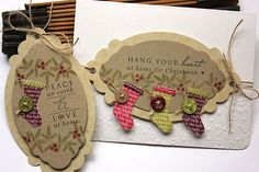 Papertrey Ink Love Lives Here stamps and dies; Mat Stack 6 dies.  Christmas.