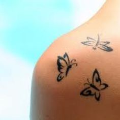 I'm going to get the Tattoo butterflies