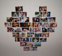 Easy and creative wall-decoration with pictures and pins. Don't keep all your memories in an album!