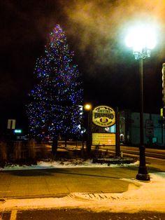 Downtown Brainerd, MN. January 5, 2015.
