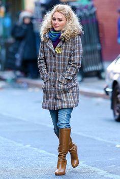 Anna Sophia Robb - The Carrie Diaries fashion