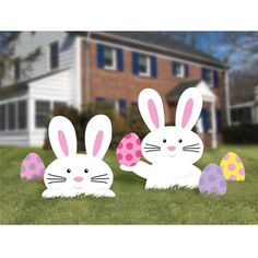Bunny Corrugated Plastic Yard Sign
