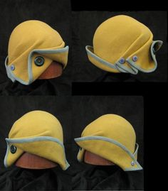 1940's Inspired Felt Hat by ~Viszay on deviantART.    Picture only