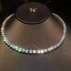 Solitaire Earrings, Stud Earrings, Round Cut Diamond, Diamond Cuts, Round Diamonds, Diamond Tennis Necklace, Diamond Jewelry, Gold Jewelry, Jewelery