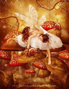 Sleepy fairy sisters.