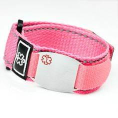 Medical Alert Bracelets And Stylish Jewelry Custom Engraved For Men Women Children Sport Strap With Symbol On Tag