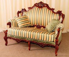 Vintage wooden sofa Version 1 | The Best Wood Furniture