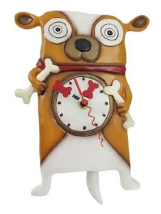 Special Offers - Allen Designs Roofus the Dog Wall Mounted Pendulum Clock - In stock & Free Shipping. You can save more money! Check It (March 29 2016 at 01:42AM) >> http://wallclockusa.net/allen-designs-roofus-the-dog-wall-mounted-pendulum-clock/