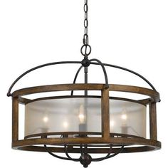 iron drum shaped chandelier - Google Search