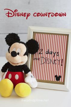 Disneyland Countdown I Heart Nap Time | I Heart Nap Time - Easy recipes, DIY crafts, Homemaking