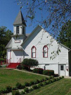 Church in Brownville, Nebraska