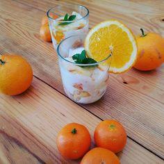 Overnight de citrinos Receita completa no blog www.citrus2017.wordpress.com Be fit with us. Be fit with citrus! #befitwithcitrus #healthyfood #eatingclean #lemon #orange #yogurt #natural #fresh