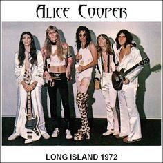 The Original Alice Cooper Band A Detroit Favorite ❤ 1971 Alice Cooper, Glam Metal, Long Island, Heavy Metal, Metal Fan, Detroit, Best Rock, The Villain, Glam Rock