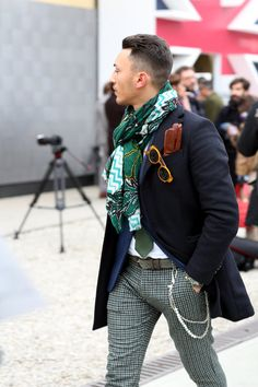 Street Style Photos at Pitti Uomo in Florence, Italy - NYTimes.com