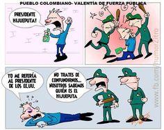 presidente violencia policia paro colombia